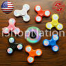 LED Tri Spinner Fidget Spinners EDC Figet Hand Desk Focus Toy ADHD -Multi Color