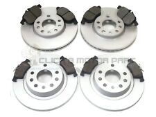 SAAB 9-3 93 02-12 FRONT & REAR BRAKE DISCS AND PADS SET (CHECK LISTING CHOICE)