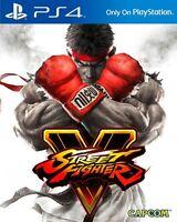 Street Fighter 5 (PS4) BRAND NEW SEALED STREET FIGHTER V