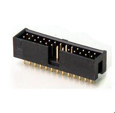 Wannenstecker, 26-polig (2x13) Stiftleiste Print gerade schwarz AU, RM2,54, 2St.