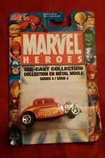 2005 Maisto Marvel Heroes SPIDERMAN 1934 FORD HOT ROD #86 NIB Series 4 DIECAST