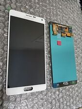 Brand New Samsung Galaxy Note 4 OEM White N910A N910 LCD Digitizer + Adhesive ~