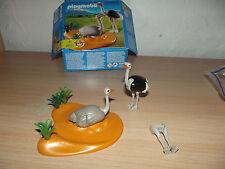 playmobil couple d'autruches 4831  2009 complet achetez groupé !