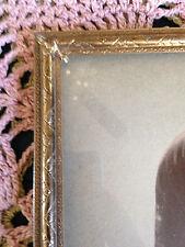 Vintage Undulating Fan Design Solid Brass Picture Frame 8 X 10 W Star Insert