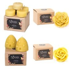4 x Gift box beeswax candles - 2 Beehives, Rose, Peony, 5 Tea Lights - RRP $60