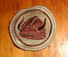 ARMY PATCH, 47th INFANTRY BRIGADE, (47th INFANTRY DIVISION) DESERT, BROWN BORDER