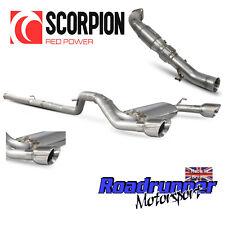 "Scorpion FOCUS RS MK3 TURBO BACK exhaust 3"" non RES NON rhabditiforme & Chat Daytona Astuce"
