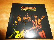 CAPSULA Songs & Circuits CD ALBUM PROMO CARTON DEL AÑO 2006 CONTIENE 11 TEMAS