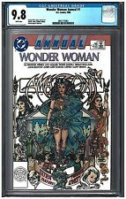 WONDER WOMAN ANNUAL #1 CGC 9.8 (1988)  DC Comics white pages