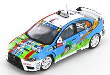 Mitsubishi Lancer EVO X Course Car Ypres Rally 2013 1:43