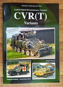 Tankograd British Special 9034: CVR(T) Variants, Softback book