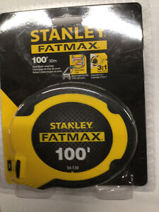 Stanley Fatmax 100' Tape Measure