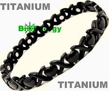 TITANIUM Magnetic Energy  Armband  Power Bracelet Health Bio STRONG MAGNET