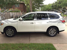 Fit:2013-2017 Nissan Pathfinder 8Pc Chrome Pillar Post Stainless Steel