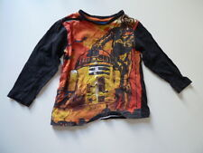 TU 100% COTTON GREY/ORANGE  LONG SLEEVED STAR WARS[R2D2/C3PO] TOP,AGE 3 YRS