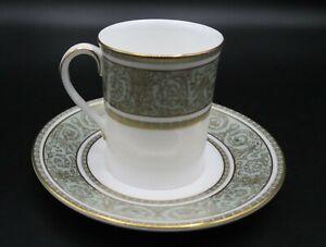 "ROYAL DOULTON England China ""English Renaissance"" Demitasse Cup & Saucer MINT!"