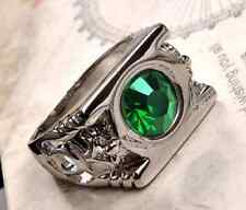 Green Lantern Ring Crystal /WITH ZINC ALLOY Ring! NEW SIZE 11 NICE! F3