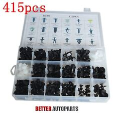 415pcs 18 Size For All Ford Trim Clip Car Retainer Panel Bumper Fastener Kit Set (Fits: Ford Aspire)
