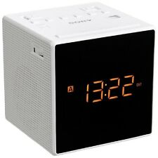 Sony ICF-C1T FM/AM Clock Radio  WHITE
