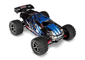 Traxxas E-Revo 4x4 VXL Blau X Brushless RTR +Lader +Akku 71076-3 Monstertruck