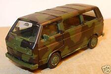 HERPA HO 1/87 VW VOLKSWAGEN MINI BUS COMBI T3 MILITAIRE MILITARY tarnfarben