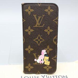 LOUIS VUITTON IPHONEX XS FOLIO iPhone X & XS Case Monogram My LV World Tour