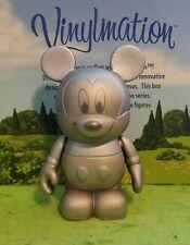 "Disney Vinylmation Park - 3"" Set 7 Urban Silver Tonal Topper Mickey Mouse"