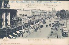 MEXICO Portal de Mercaderes y Empedradillo 1904 PC