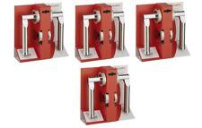 4x Rosettengarnitur Modell Main Edelstahl Garnitur Türdrücker Zimmertürbeschlag