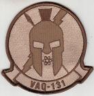 VAQ-131 LANCERS DESERT COMMAND CHEST PATCH