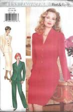 4153 BUTTERICK VERY EASY MISSES' TOP, SKIRT & PANTS SZ 12-16