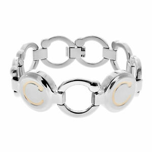 Bioflow Magnetic Therapy Two Tone Pirouette Bracelet - From Bioflow Direct