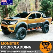 BODY MONSTER CLADDING FIT Nissan Navara NP300 2015-2018 ACCESSORIES MOULDS D23