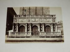 NAYA / VENISE VENEZIA 1870 La Loggetta VINTAGE Albumen Print