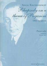 Rachmaninov: Rhapsody on a Theme of Paganini, Op.43 (18th... BH11521
