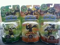 SKYLANDERS SWAP FORCE SPY RISE, RUBBLE ROUSER AND STINK BOMB - NEW READY TO SHIP