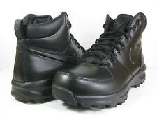 NIKE MENS MANOA LEATHER Black/Black -454350 003- ATHLETIC  BOOTS
