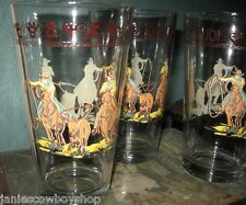 Western Decor Glassware Team Roper  Brands Glasses 20 oz Western Home Office