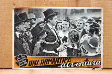 UNA ROMANTICA AVVENTURA fotobusta poster G.Cervi M.Girotti A.Noris L.Cortese K68