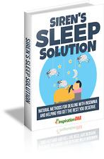 Siren's Sleep Solution - A Digital Book