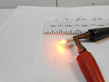 99-33080-8P47-027 AMBER LAMP WITH T ON END OF PIN LENTH.80 DIA .21 HOLE .189 NOS