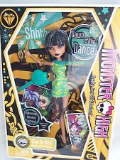 Monster High Cleo de Nile with Diary  - MINT Dawn of the Dance
