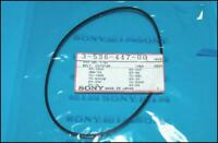2 PCs NEW & Genuine Sony 3-536-447-00 Rubber Belt (Square) Factory Sealed Packs