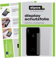 6x Apple iPhone X / 10 arrière Film de protection d'écran protecteur antireflet
