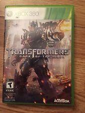 Transformers: Dark of the Moon (Microsoft Xbox 360, 2011) W2