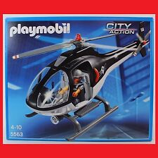 PLAYMOBIL Sek-helikopter (5563)