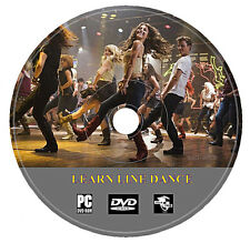 Beginners Easy Step By Step Guide Line Dancing Learn Country Dance DVD Disc