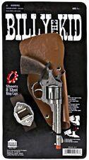 Cap Gun Replica Diecast Western Pistol Revolver Cowboy Prop Toy Billy The Kid