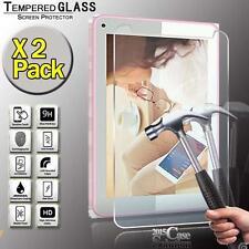 """Pack 2 protector de pantalla de vidrio templado para violonchelo 7"""" pulgadas Tablet"""