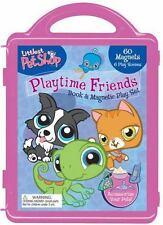 Littlest Pet Shop: Playtime Friends: Book & Magnetic Playset - Good - Hasbro